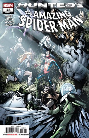 AMAZING SPIDER-MAN #18
