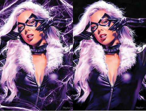 BLACK CAT #1 MIKE MAYHEW EXCLUSIVE 2 PACK