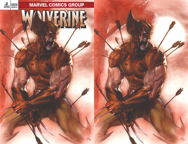 RETURN OF WOLVERINE #2 (OF 5) EXCLUSIVE DELLOTTO 2 PACK