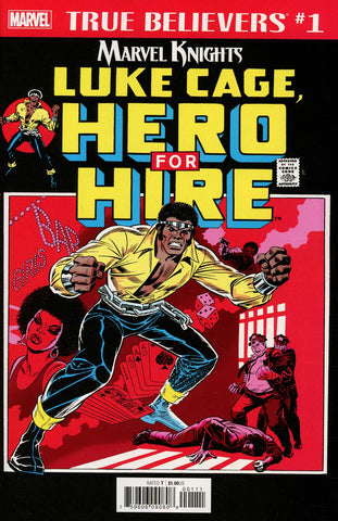 TRUE BELIEVERS LUKE CAGE HERO FOR HIRE #1