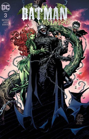 BATMAN WHO LAUGHS #3 (OF 6) UNKNOWN COMIC MIKE PERKINS EXCLUSIVE