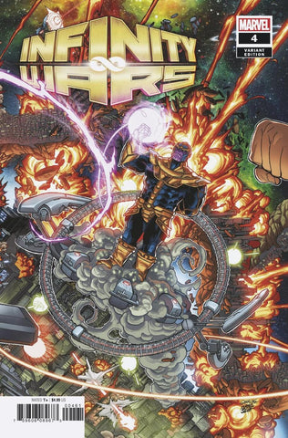 INFINITY WARS #4 (OF 6) GARRON CONNECTING VAR