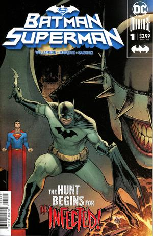 BATMAN SUPERMAN #1 BATMAN COVER
