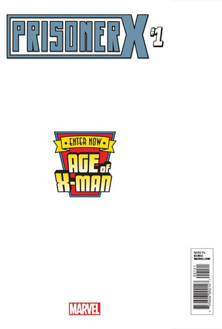 AGE OF X-MAN PRISONER X #1 (OF 5) SECRET VAR