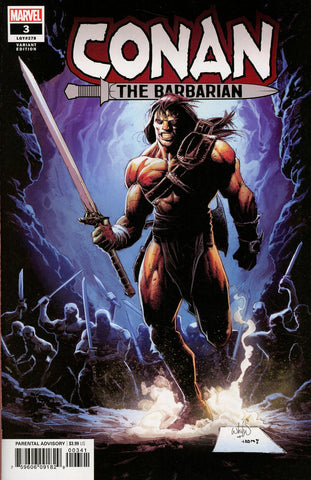 CONAN THE BARBARIAN #3 PORTACIO VAR