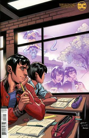 WONDER TWINS #6 (OF 6) VAR ED