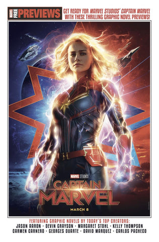 CAPTAIN MARVEL START HERE - LIMIT 1 PER