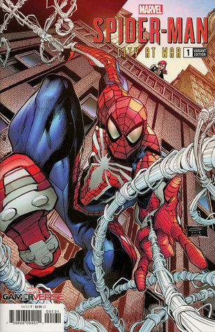 SPIDER-MAN CITY AT WAR #1 (OF 6) SANDOVAL VAR