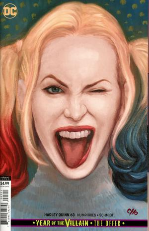 HARLEY QUINN #63 CARD STOCK VAR ED YOTV THE OFFER
