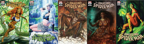 AMAZING SPIDER-MAN COMICXPOSURE HUNTED 5 PACK