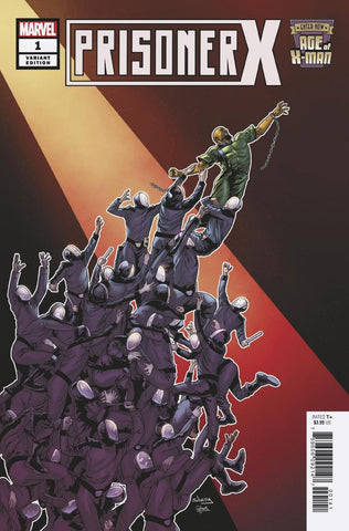 AGE OF X-MAN PRISONER X #1 (OF 5) SLINEY VAR