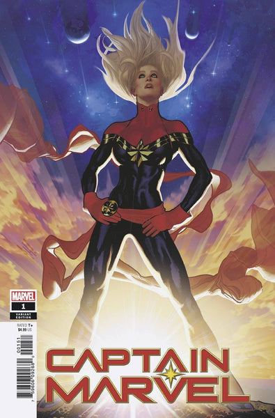 CAPTAIN MARVEL #1 HUGHES VAR