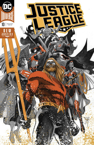JUSTICE LEAGUE #10 FOIL (DROWNED EARTH)
