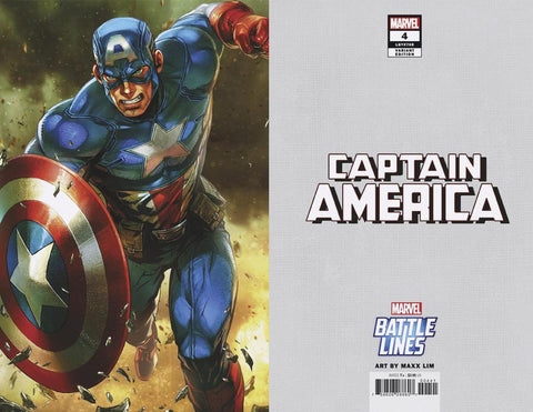 CAPTAIN AMERICA #4 YOON LEE MARVEL BATTLE LINES VAR