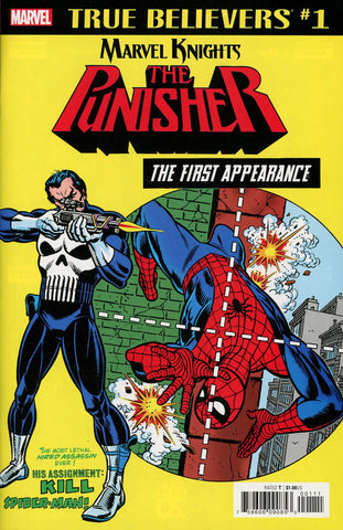 TRUE BELIEVERS PUNISHER FIRST APPEARANCE #1