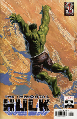 IMMORTAL HULK #15 ALEX ROSS MARVELS 25TH TRIBUTE VAR
