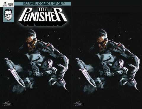 PUNISHER #2 DELLOTTO EXCLUSIVE 2 PACK VARIANT