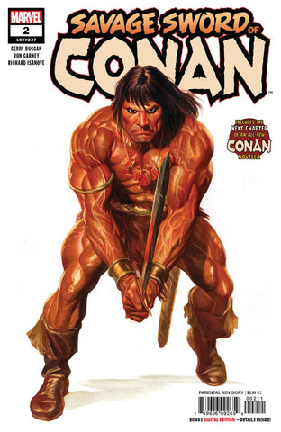 SAVAGE SWORD OF CONAN #2