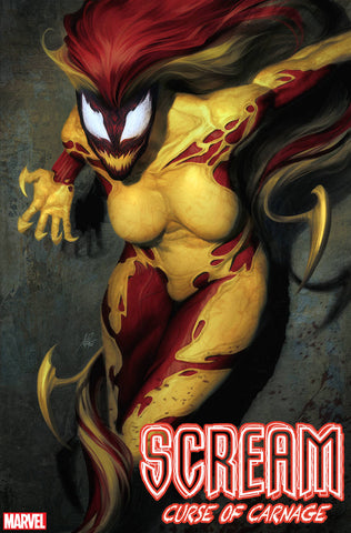 SCREAM CURSE OF CARNAGE #1 ARTGERM VAR