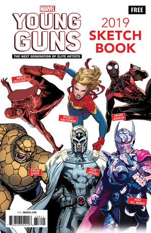 YOUNG GUNS SKETCH BOOK - LIMIT 1 PER - FREE