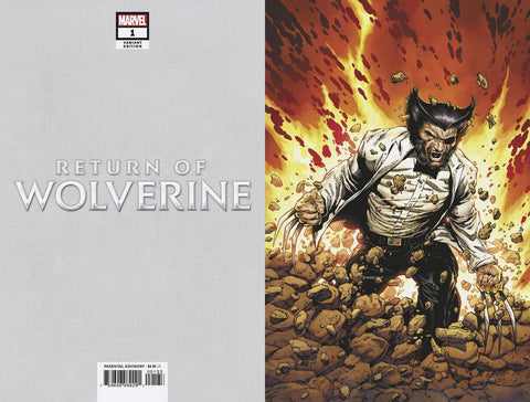 RETURN OF WOLVERINE #1 (OF 5) MCNIVEN PATCH COSTUME VIRGIN