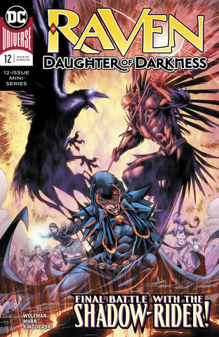 RAVEN DAUGHTER OF DARKNESS #12 (OF 12)