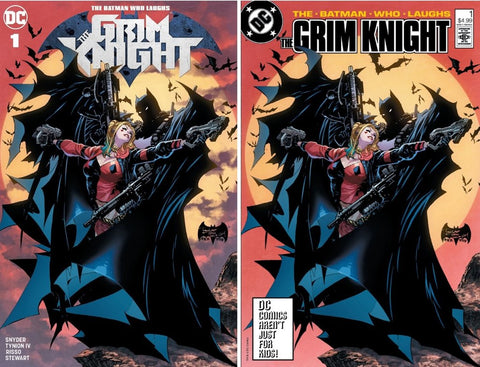 BATMAN WHO LAUGHS THE GRIM KNIGHT #1 PHILIP TAN 2 PACK EXCLUSIVE
