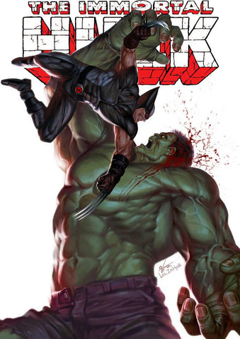 IMMORTAL HULK #17 UNKNOWN INHYUK LEE EXCLUSIVE