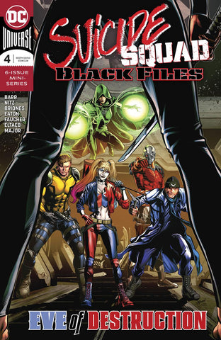 SUICIDE SQUAD BLACK FILES #4 (OF 6)
