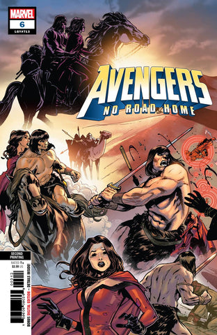 AVENGERS NO ROAD HOME #6 (OF 10) 2ND PTG IZAAKSE V