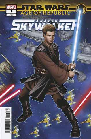 STAR WARS AOR ANAKIN SKYWALKER #1 MCKONE PUZZLE PC VAR