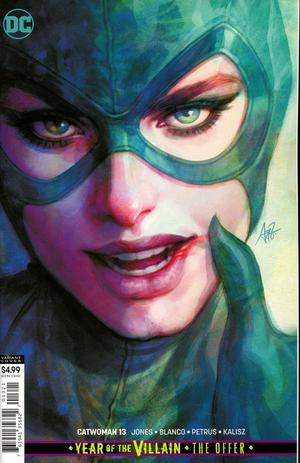 CATWOMAN #13 CARD STOCK VAR ED YOTV THE OFFER