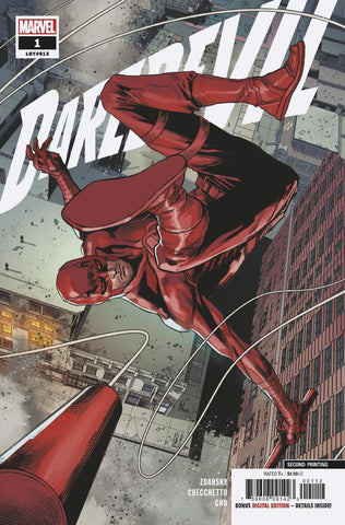 DAREDEVIL #1 2ND PTG CHECCHETTO VAR