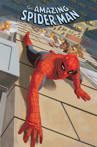 AMAZING SPIDER-MAN #23 ACUNA MARVELS 25TH TRIBUTE VAR