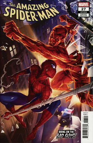 AMAZING SPIDER-MAN #27 WOO CHEOL LEE BOBG VAR