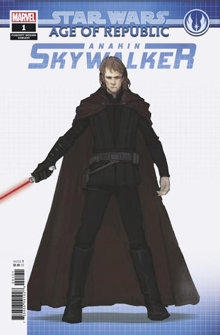STAR WARS AOR ANAKIN SKYWALKER #1 CONCEPT VAR