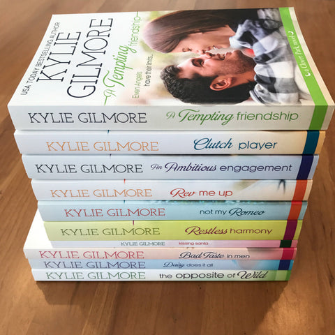 Clover Park series set by Kylie Gilmore