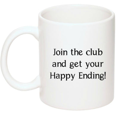 Happy Endings Book Club Mug