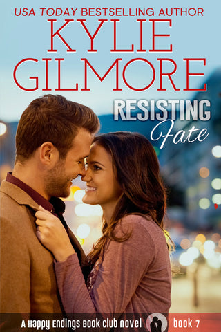 Signed Paperback of Resisting Fate by Kylie Gilmore