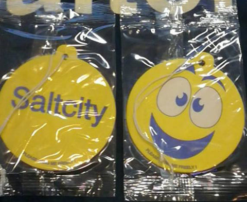 Saltcity Smiley Car Air Freshener