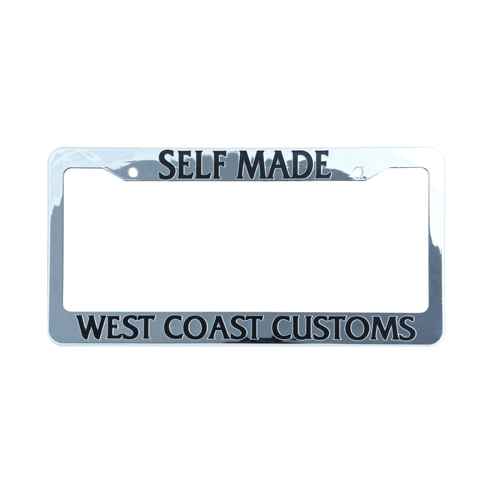 The World Famous West Coast Customs® Official License Plate Frames ...
