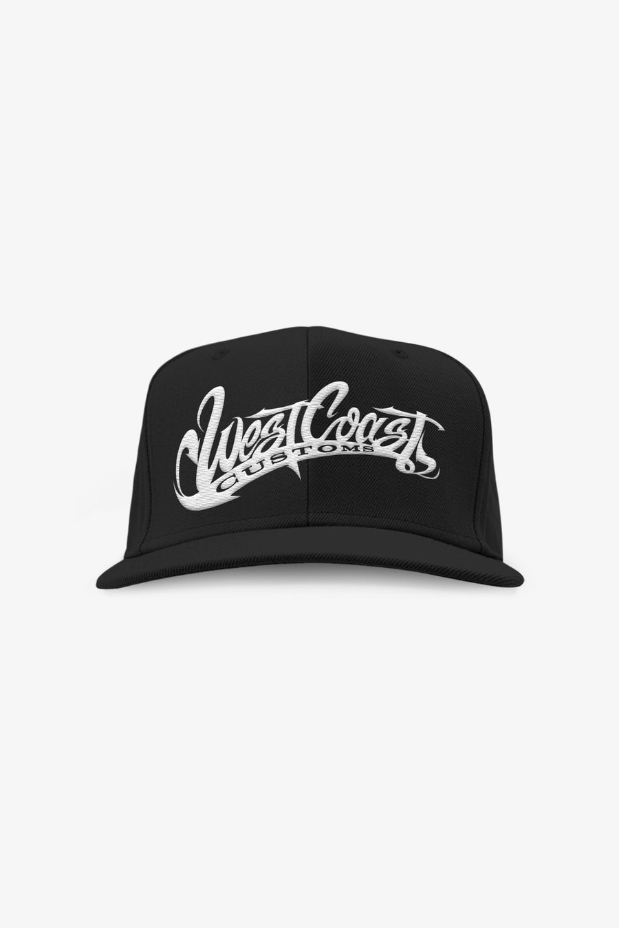 West Coast Customs Black Snapback