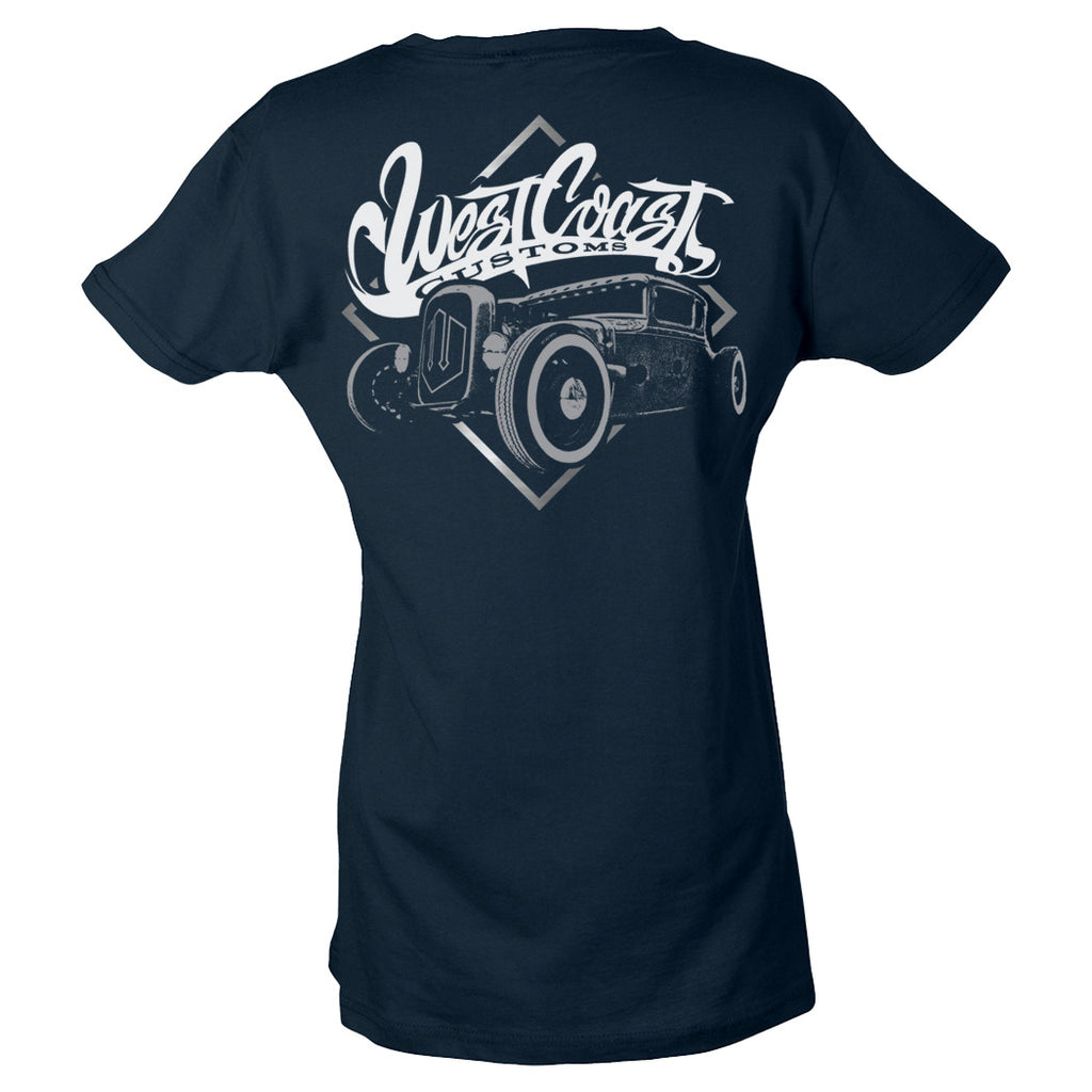 Platinum Women's Hot Rod Tee