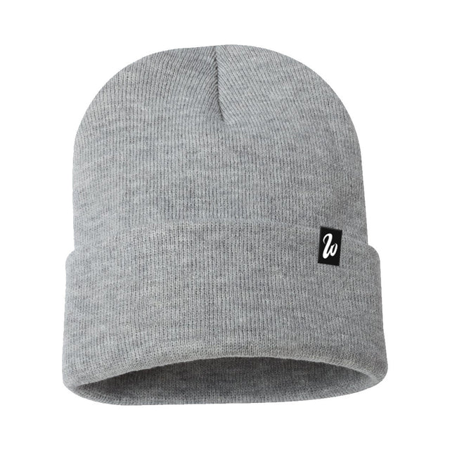 West Coast Heather Grey Beanie