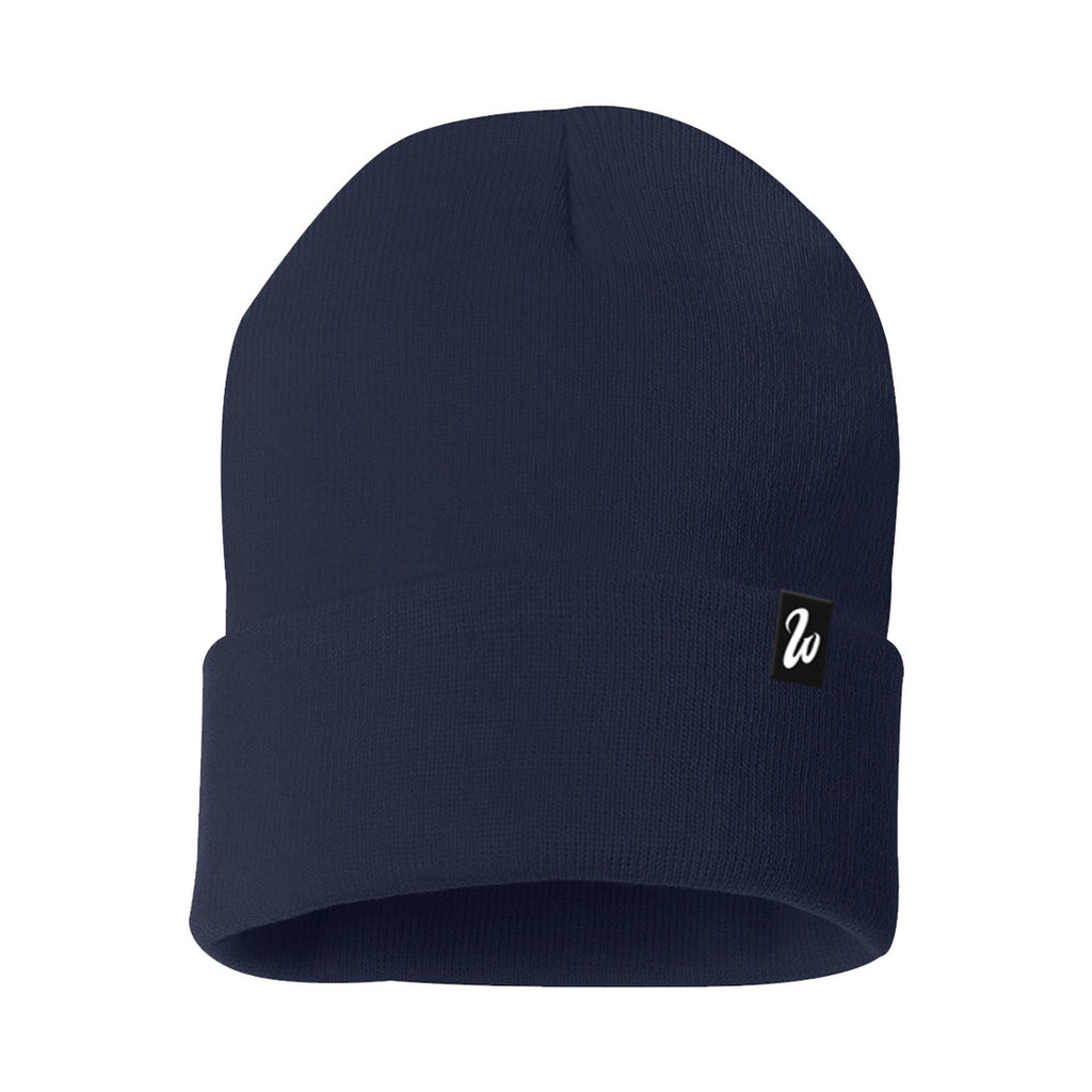 West Coast Heather Navy Beanie