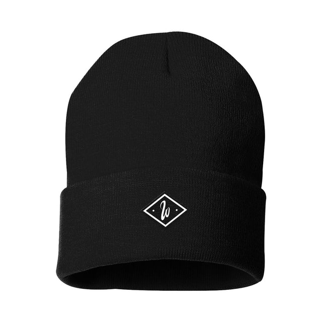 Diamond Black Beanie