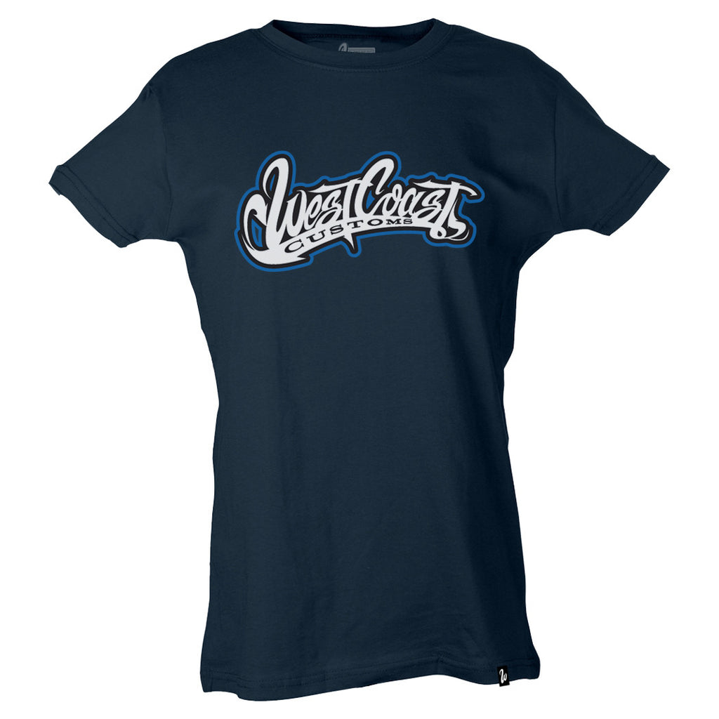 Original Blue Logo Women's Tee