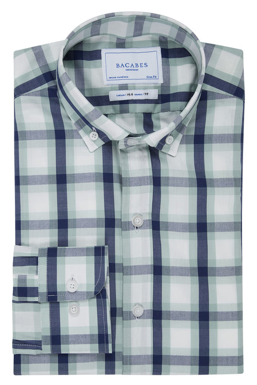 Camisa Casual Bacabes a Cuadros