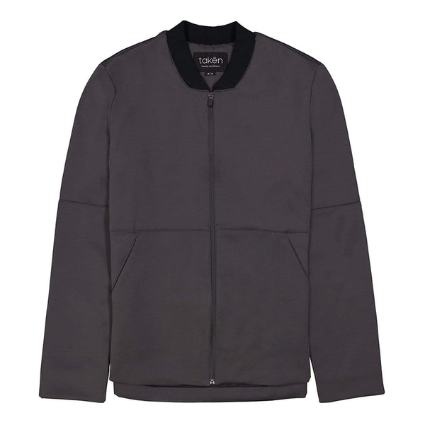 Chamarra Gris Oxford