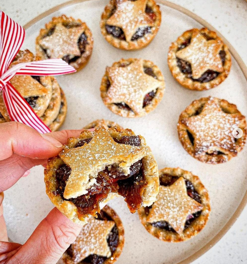 Spiced Orange Mince Pies